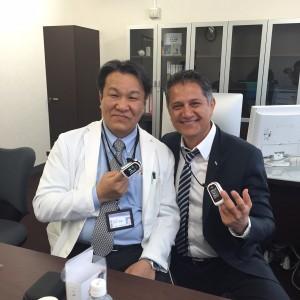 Joe and Dr Sakamoto